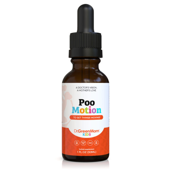 Dr. Green Mom Poo Motion for Constipation relief for kids and adults