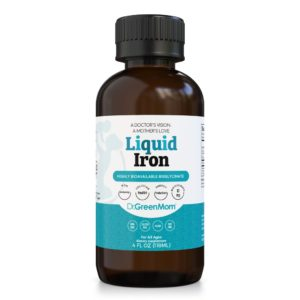 Liquid Iron by Dr. Green Mom®