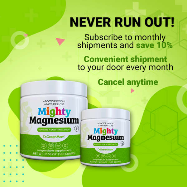 Magnesium subscription - Mighty Magnesium - Dr. Green Mom