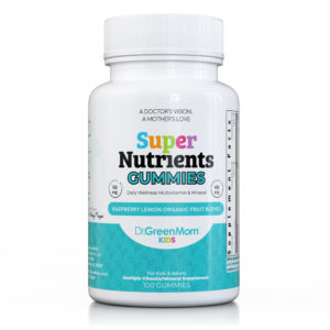 Super Nutrients Multivitamin & Mineral Gummies Dr. Green Mom®