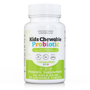 Dr Green Mom kids chewable probiotic photo